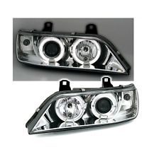 2 FEUX PHARE AVANT ANGEL EYES LED BMW Z3 CHROME COUPE ET ROADSTER