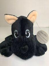 """1998 Mary Meyer Scottie Pound Puppies 7"""" Black Bean Plush Puppy Dog Adopt"""