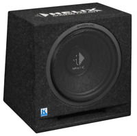 "HELIX K 12E 30cm 12"" Car Sub Subwoofer in vented bass box dual 2 ohm 300w RMS"