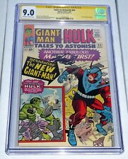 Tales to Astonish #65 CGC Signature Series Autograph STAN LEE New Giant-Man
