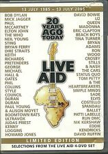 Live Aid 20 Years Ago Today Limited Edition Various Artists DVD Neu ??? Region 1