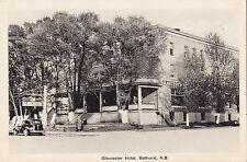 Gloucester Hotel BATHURST New Brunwick Canada 1930-40s H.V. Henderson Postcard