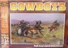 Nexus 1/72 Cowboy Horse Cow Plastic Figures Model Kit