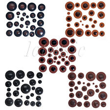 5 Sets of 25pcs Different Professional Alto Saxophone Pads Leather Pads Woodwind