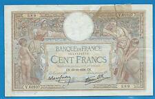 GERTROLEN  Billet 100 FRANCS  Luc Olivier Merson 13-10-1938  V.60937
