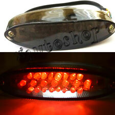 Smoke LED Tail Brake Light Motorcycle Dual-Sport MX ATV Cafe Racer Streetfighter