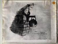 "'PINOCCHIO' 1940 WALT DISNEY STUDIO MODEL SHEET ""JIMINY CRICKET"""