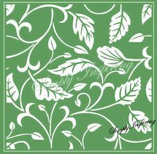 ✿ Vine Leaves Square Embossing Folder ✿ New For Cuttlebug & Sizzix ✿