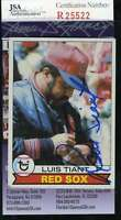 Luis Tiant 1979 Topps Jsa Coa Hand Signed Authentic Autographed Red Sox