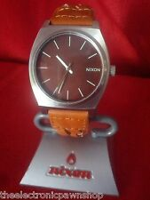 "Nixon ""The Time Teller"" (Leather Braid) 100M 3-Hand Japanese Movement [14L]"