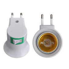 E27 PORTA LAMPADA ADATTATORE PRESA ELETTRICA 220V SPINA INTERRUTTORE ON/OFF