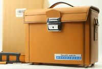 【UNUSED TOP MINT】 Hasselblad Leather Case Beautiful Vintage Bag From JAPAN #1469