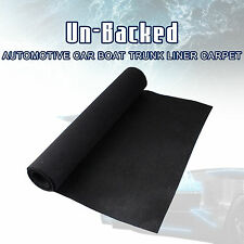 "BLACK CARPET SPEAKER BOXES MARINE RV AUTO TRUNK LINER CARPET 78"" X 36"""