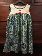 Persnickety Size Girl's 6 Salty Kisses & Sandy Toes Jolie Dress EUC