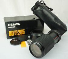 Osawa Mark II 80-205mm MC 1:4.5 52mm Macro Zoom Lens