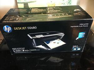HP DeskJet D2680 Standard Inkjet Printer