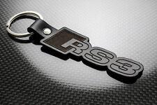 Audi RS3 Leather Keyring, Keychain, Schlüsselring, Porte-clés QUATTRO A3 TSFI