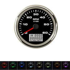 GPS ATV Boot Tachometer Kilometerzähler Tankanzeige Öldruck Temperaturanzeiger