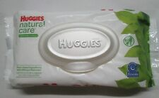"""HUGGIES Natural Care """"Sensitive"""" Baby Wipes 56 Towelettes per 1 Package"""