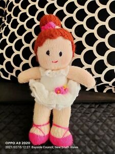 Doll Knitted Ballerina