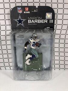 Marion Barber III Dallas Cowboys NFL McFarlane Action Figure NIB Boys 2008