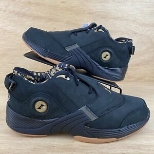 Reebok Answer V 2020 Iverson Classic Black Gold Mens [Sz 12] Unreleased RARE