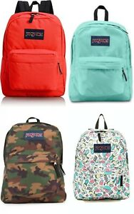 New Jansport Boys or Girls Superbreak Backpack Choose Color
