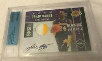 2011 PANINI LIMITED EXQUISITE FLAWLESS SIGNATURES AUTO PATCH KOBE BRYANT 1/1 BGS