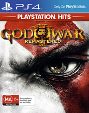 God of War 3 III Remastered Playstation Hits PS4 Game NEW
