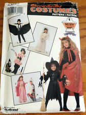 Costumes Pirate Knight Princess Bride S M L Simplicity NO SEW Pattern 0632 A