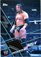WWE Triple H Topps 2011 Ringside Relics Event Used Ring Skirt Relic Card