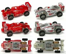 2006 JWL HO 1/64ish American Release F-1 Indy Matched Pair Slot Race Cars Rd/Sil