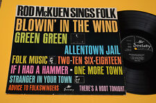 ROD Mc KUEN LP SINGS FOLK 1°ST ORIG UK MEGA RARE