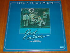 THE KINGSMEN - JUST IN TIME - RARE 1976 STILL SEALED LP ! ! ! !