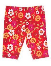 GYMBOREE NWOT FIESTA DEL SOL SIZE 3-6 MONTHS FLOWER BIKE SHORTS RED TWINS
