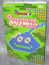 DRAGON QUEST I II III 1 2 3 Michikusa Adventure Guide Book Wii SE23*
