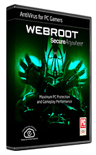 Webroot SecureAnywhere AntiVirus for Gamers