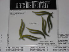 "DEE'S DISTINCTIVELY DIES - ""FLOURISH SET 4"" IME117 FOR CARDS & SCRAPBOOKING"