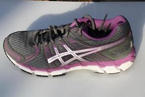 Asics Women's GEL-Forte M and 2E Running Shoes Storm Lightning Purple T360N 9893