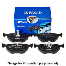 GENUINE PAGID REAR AXLE BRAKE PAD SET BRAKE KIT BRAKE PADS FOR AUDI A6