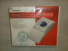 Vintage Radio Shack Desktop Ps2 Compatible Trackball Mouse