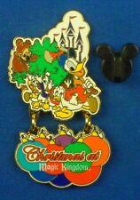 Donald Duck & Nephews Christmas at Magic Kingdom Dangle LE Disney Pin #17941