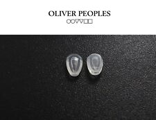 Oliver Peoples Sunglasses AirTech Replacement Nose Pads Snap-on New Silicone