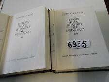 GIORGIO CRACCO Europa Islam Bisanzio nel Medioevo ( 2 vol)(69 E 5)
