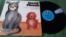 LP: ELLIS KAUT - Kater Musch Folge 2 - DISNEYLAND / EMI - 1972 - Selten!