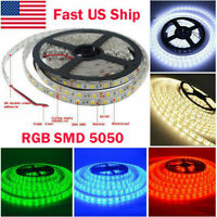 5M 10M 5050 LED Flexible 3M Tape Strip Light For Boat /Truck / Car/ Suv /ATV 12V