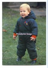 "er0308 - Prince William at 18 months old on his 1st Public ""Walkabout""- postcard"