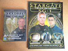 DVD COLLECTION STARGATE SG 1 PART 8 + MAGAZINE - DVD STILL SEALED