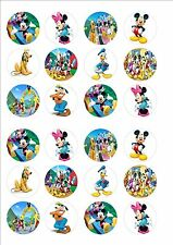 Mickey Mouse Clubhouse Comestibles Hada Cup Cake, Decoración Toppers Papel De Arroz X 24