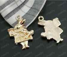 8pc Imitation gold charm Jewelry rabbit Jewelry Accessories wholesale PJ1735